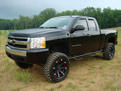 Robert LeJuett's modified 2008 Chevy Silverado 1500 5.3L