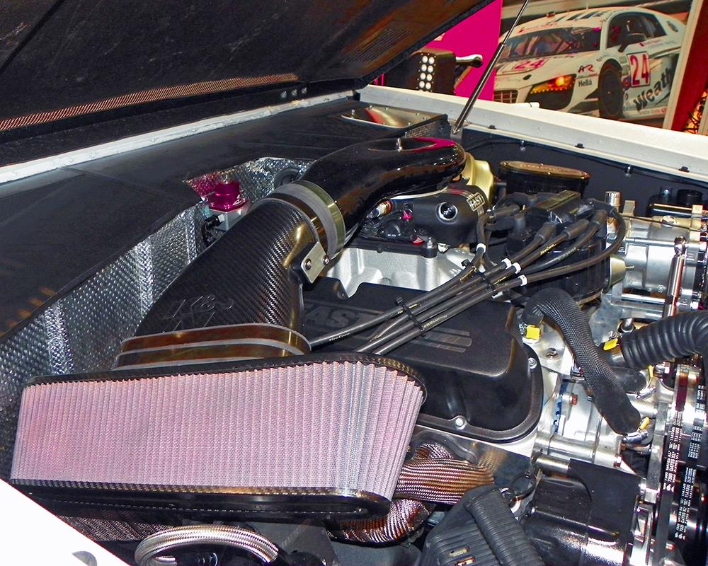 Rockstar Performance Garage 1973 Ford Bronco Uses K&N Carbon Fiber ...