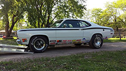 1972 Plymouth Duster dragster