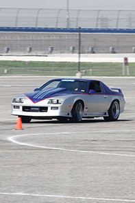 Professional driver Danny Popp at Super Chevy Muscle Car Challenge