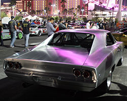 NRE 2000 horsepower 1968 Dodge Challenger stole the show