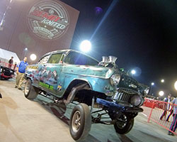 1955 Chevy Sedan 150 Gasser came from the Las Vegas locals of WelderUP