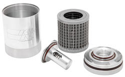 K&N reusable billet aluminum oil filter