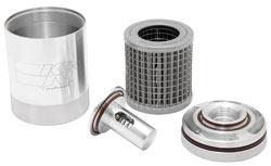 K&N reusable billet aluminum oil filter