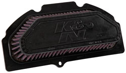 K&N SU-9915 replacement air filter for Suzuki motorcycles