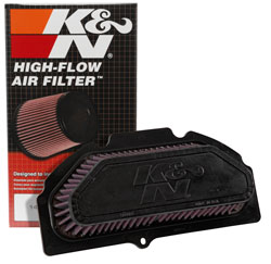 K&N SU-9915 washable air filter with box