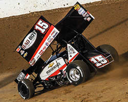 K&N sponsored WoO Sprint car champ Donny Schatz