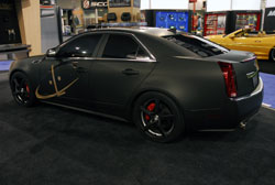 This 2012 Cadillac CTS was not Scott Lowe's first SEMA show vehicle