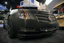Much preparation went into this 2012 Cadillac CTS for the 2012 SEMA Show