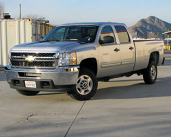 Trucks like this 2011 Chevy Silverado 2500 HD 6.6 liter Duramax Diesel V8 benefit from increased airflow and outstanding filtration