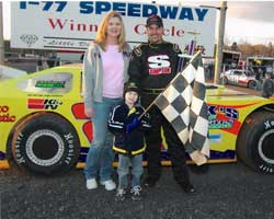 Mandie, Chris and Jeremy Steele: Photo Courtesy of Chris Steele Racing