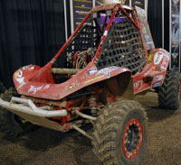 Steve Bucaro Displayed His 400cc Buggy at SEMA