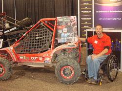 Lucas Oil Off Road Racing Pilot Class Buggy Displayed at SEMA