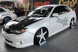 2011 SEMA Subaru WRX Project Vehicle