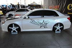 2008 Subaru WRX at SEMA 2011