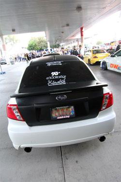 Rob Barkley's 2008 Subaru WRX at SEMA 2011