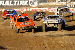 LOORRS is packed with bangs and thrills, and when bumping damages trucks, SuperLite Championship is onsite with three semi-trucks packed with replacement parts.
