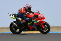 Suzuki GSX-R 1000 and KWS Motorsports