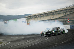 Vaughn Gittin Jr. was top qualifier in Formula D with 2016 900 horsepower 2016 Ford Mustang RTR