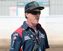 "Team USA Coach Billy ""The Bullet"" Hamill is a Speedway legend with World Team Cup wins on Team USA in 1990, 1992, 1993 and 1998 with an individual world championship in 1996"