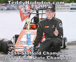 Teddy Hodgdon's dream season included two separate track championships.