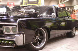Dennis McCarthy was in charge of overseeing the creation all 29 Chryslers' used during the filming of the Green Hornet movie.