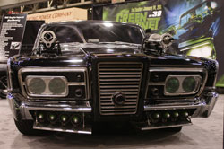 To ensure that the Green Hornet and Kato always succeed in their tireless pursuit of villains, McCarthy says that of course he equipped the 1965 Chrysler Imperial (Black Beauty) with a K&N filter.