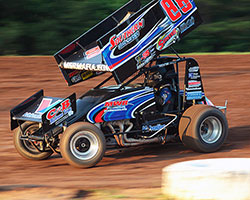 Tim Crawley recently earned his fourth consecutive USCS victory at the Hammerdown at Hammer Hill event held at the I-30 Speedway in Little Rock, Arkansas