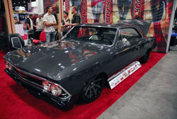 Tim King most certainly did a great job on this 1966 Chevelle displayed at the 2012 SEMA Show