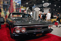 This 1966 Chevelle packs plenty of power with a well built 454 cubic inch motor