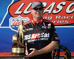 2015 marks the 10th consecutive season in which Phillip's earned at least one NHRA national event crown