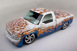 Michael's 2002 Custom GMC Sierra SLE Truck