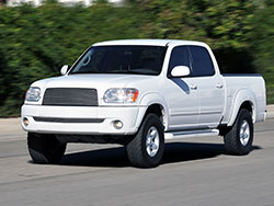 2005 Toyota Tundra 4.0L V6 engine with K&N air intake