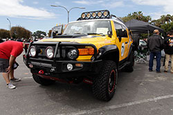 off road inspired FJ Cruise All Toyotafest 2016 in Long Beach, CA