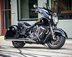 The RSD Track Chief began its life as a beautifully engineered American V-Twin powered, long distance touring oriented Indian Chieftain bagger from Polaris Industries