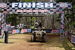 Kevin Trantham gets the win at the Cannonball GNCC race