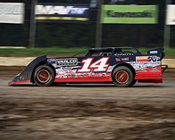 Bubba the Love Sponge's Son Tyler Clem Raced Crate Late Model In Ice Bowl at Talladega Short Track