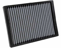 K&N reusable cabin air filter for Chevy Traverse, GMC Acadia, Buick Enclave, Saturn Outlook