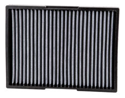 The K&N VF2012 Cabin Air Filter is designed to improve air quality in 1993-2010 Volkswagen models, including the Golf, Cabrio, Beetle, GTi, Jetta, Passat, Derby, 1998-2004 Audi A3, 2000-2006 Audi TT, 2002-2005 Seat Toledo & 2003-2005 Seat Leon