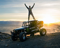 Vaughn Gittin Jr finished the King of the Hammers