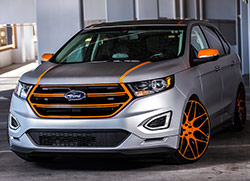 After attracting Ford's attention in 2009, Aaron Vaccar has designed several vehicles for the Ford SEMA Show Booth
