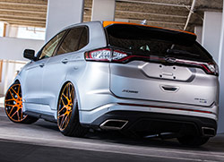 In 2015 Ford asked Aaron Vaccar to add his personal design touches to a 2015 Ford Edge Sport AWD 2.7L EcoBoost for the 2015 SEMA Show