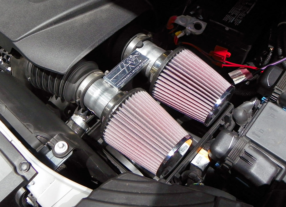 Aaron Looked To A Pair Of Kn Air Filters Both Number Rc