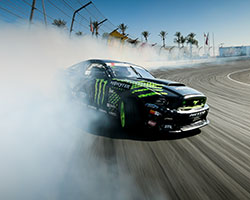 "The 2014 Formula Drift championship was decided following Formula Drift Round 7 ""Final Fight"" at Irwindale Speedway in California with Vaughn Gittin Jr locking in third place overall"