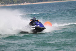 Professional Jet Ski racing has been a goal for Victor Nolan since he was a kid