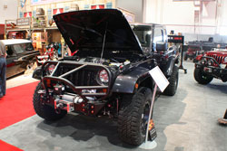 This 2012 Jeep Wrangler is one impressive ride as seen during SEAM 2012