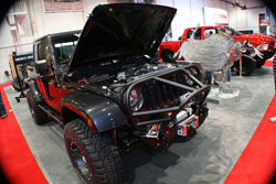 SEMA 2012 held some relly cool vehicles including the 2012 Jeep Wrangler built by VWerks