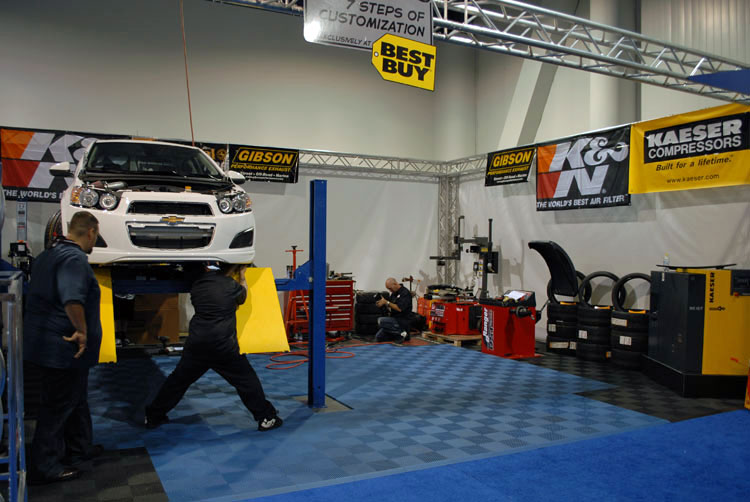 Local Tire Shops >> West Coast Customs (WCC) Debuts Their 7 Steps to Customization Program at SEMA