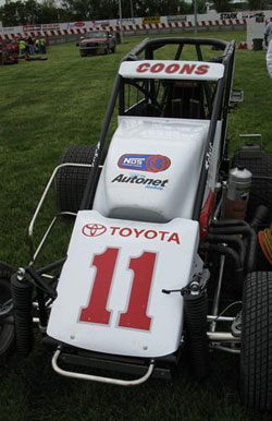 Wilke-PAK driver Jerry Coons Jr. has already claimed two USAC Mopar Midget National Championships in 2006 and 2007.