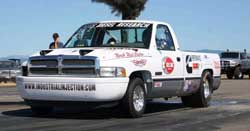 NHRDA Racer William Fletcher's 12-valve Diesel